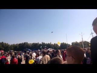 Авиа шоу Воронеж день города 2014 г вертолет