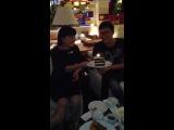 С Днем Рождения другу! Даурен и Алия:-)
