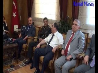 Kahramanmaraş Valisi ve Gazeteci arasındaki konuşma