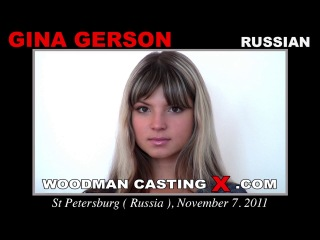 Gina Gerson - Casting And Hardcore *FULL VERSION* (18.07.2014) 720p