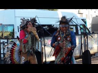 Индейцы в Уфе 13 и 15 августа 2014 округ Галле (7)