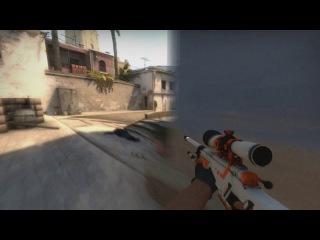 1vs5 HighLight Counter-Strike Global Offensive Qulon Ace Awp