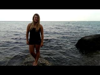 ice bucket challenge Roksolana Svyryd