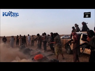 New ak47 execution of iraqi soldiers by the islamic state