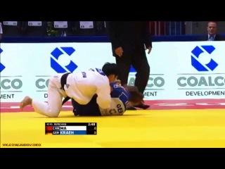 2014 World Championships Chelyabinsk (-52kg Repechage) KRAEH Mareen (GER) - MA Yingnan (CHN)