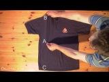 Как сложить рубашку за 2 секунды