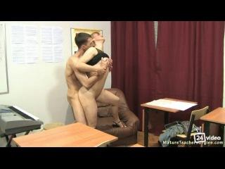 Развел на секс русскую училку