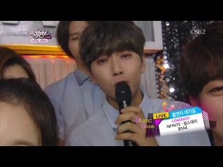[VID]140718 Music Bank - INFINITE interview at backstage