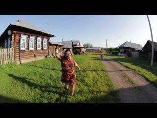 Шикарная деревенская пародия на клип Hideaway канадской певицы Kiesza от Пермяков из деревни в Осинском районе