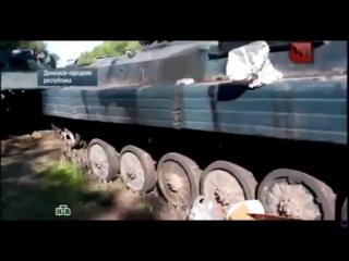 Чрезвычайное происшествие на НТВ. О событиях под Волновахой и в Луганске 22.05.2014