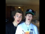 Chris and Crawford - friends