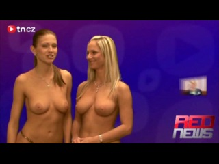 Naked red news [2009.03.29] jana potysova & vendula bednarova.mp4