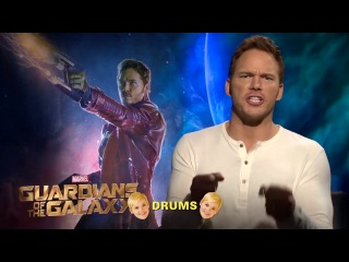 Sing-A-Long With the Cast of Guardians of the Galaxy!