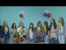лагерь Зарянка 2014г. 2 заезд закрытие 1 отряд девочки)
