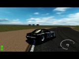 SLRR Drift Battle. Mazda RX-7