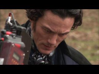 На съемках фильма Ворон 2012