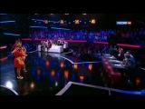 Шоу один в один 2014 Дмитрий Бикбаев - Наташа Королева - Подсолнухи - Один в Один - Скандал, ссора, обида