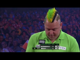 Peter Wright vs Raymond van Barneveld (PDC European Championship 2014 / Quarter Final)