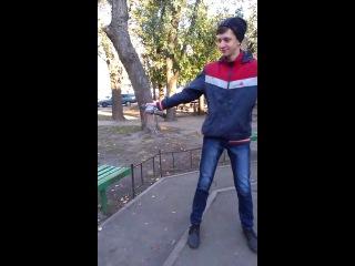 Лёха запускает моего голуба)))