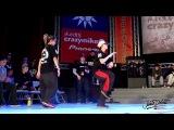 Kyoka Maika vs Lil'P AJ CrazyMike Juste Debout Taiwan 2014