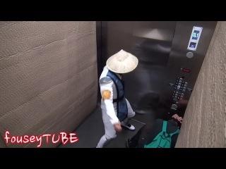 Мортал Комбат розыгрыш в лифте 2 напугал высокую личьность