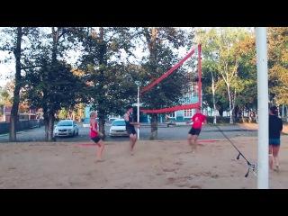 Закрытие сезона пляжного волейбола с. Троицкое 2014 г.