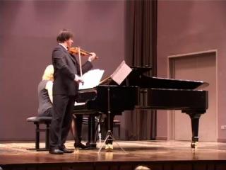 Отторино Респиги - Соната для скрипки и фортепиано си минор II. Andante espressivo - Appassionato - Tempo I