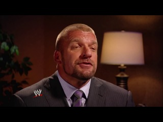 Triple H speaking about Sting coming to WWE ring.