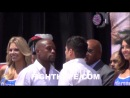 FLOYD MAYWEATHER AND MARCOS MAIDANA FACE OFF IN LOS ANGELES AHEAD OF REMATCH