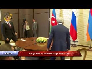 Rusiya mətbuatı Sarkisyanı tənqid atəşinə tutdu