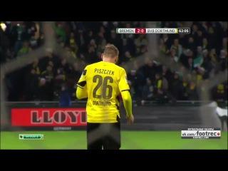 Вердер 2-1 Боруссия Д (Германия: Бундеслига, 20.12.2014) Обзор матча footrec