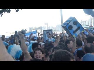 Banderazo en Rio !! Brasil decime que se siente !!