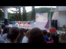 Танец нашего лагеря на хип-хоп фестивале