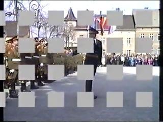 ГСВГ-ЗГВ.Прощание войск Ютербогского гарнизона с городом. 2 апреля 1994г.
