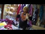 Как красиво завязать шарф, косынку, палантин (видео 2)