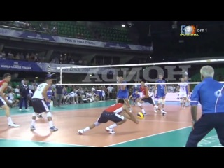 Ivan Zaystev 4 aces in a row ( fantastic serve) the best volleyball motivation