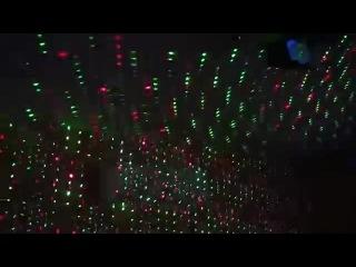 Проектор лазерный (мини), цветомузыка