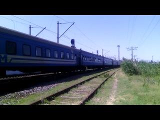 ЧС2Т с поездом Крым №68 Симферополь -Москва