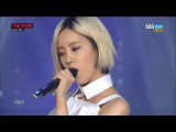 STAGE | 140812 | Hyomin ft. Sungmin - Fake it | MTV The Show