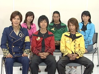 Mahō Sentai Magiranger: Magical Talk (8 of 12)
