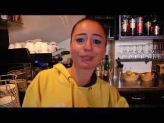 Ebru Kaya (интервью в баре)