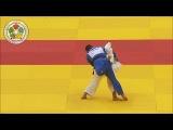 Рикки Накая (JPN) красивейший бросок чемпионата мира по дзюдо 2014