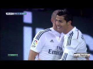 Реал Мадрид 3-0 Сельта (Испанская Ла Лига, 06.12.2014) Обзор матча footrec
