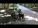"""Очередная неадекватная собачница с собакой в парке """"Сокольники""""!"""