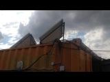 Работа солнечной электростанции EcoVolt 02.01. Эко про+ с условиях города Краснодар