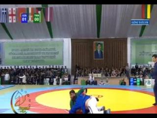 Murad Jumayev ТКМ /World Championship 2014 Kuresh Ashgabat