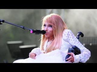 Юлия Самойлова на фестивале Остров.