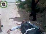 Сирия. Выстрел снайпера. Действие пули калибра 12,7 мм
