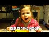 Маленькая девочка поет хардкор!