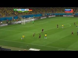 ЧМ2014, 1/2 финала, Бразилия-Германия (1-7)